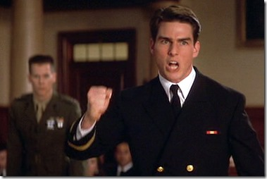 Tom Cruise in A Few Good Men - I Want the TRUTH!